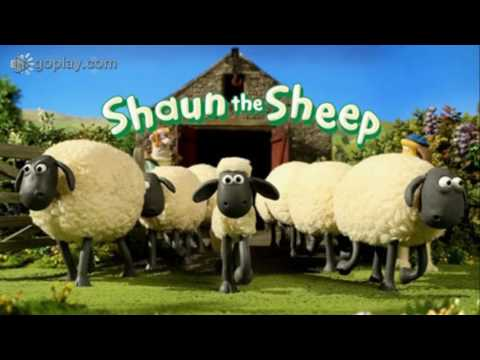 shaun the sheep theme tune scene