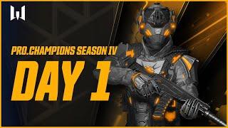 Турнир Warface PRO.Champions. Day 1 cмотреть видео онлайн бесплатно в высоком качестве - HDVIDEO