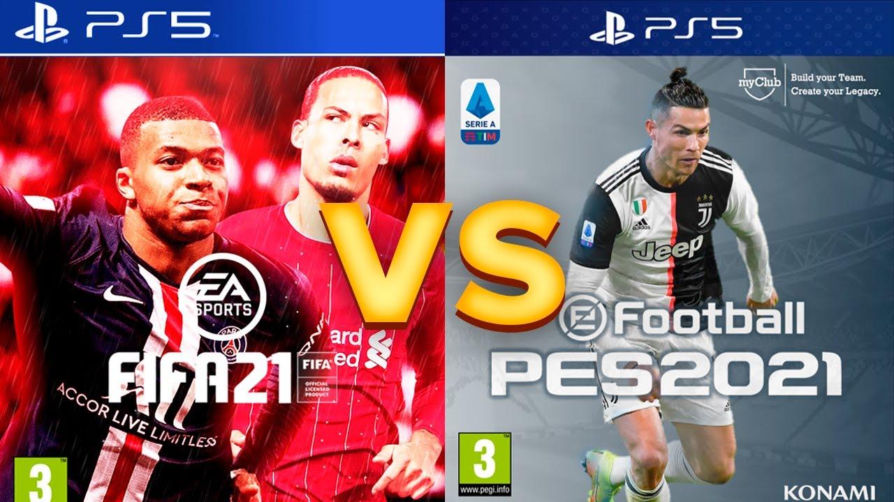 FIFA 21 vs PES 21 | Czy KONAMI ma jakąkolwiek SZANSE?