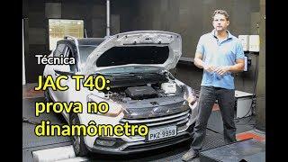 JAC T40 tem mesmo 138 cv? Checamos no dinamômetro | Técnica | Best Cars