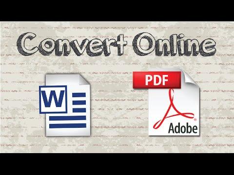 Convert Word To PDF Using Microsoft Word 2016 In Win 10 - 3 Ways
