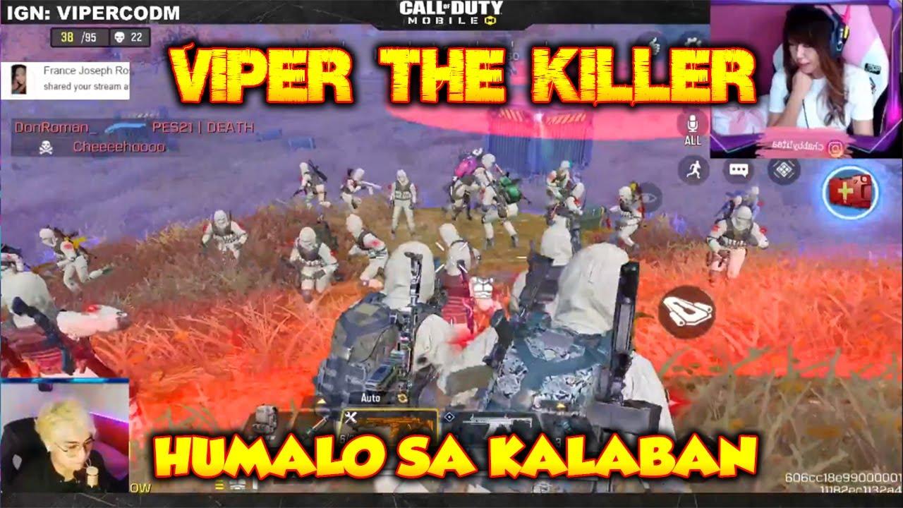 VIPER THE KILLER IN CODM - HUMALO SA MGA KALABAN