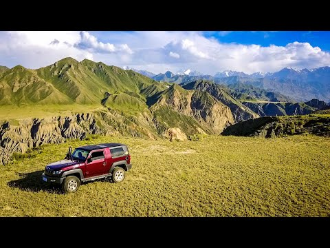 Off-Roading DEEP in the heart of China's gorgeous western landscapes of Wusu, Xinjiang