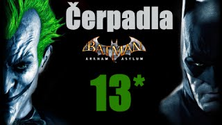 CZ tit. | Let's Play | Batman: Arkham Asylum | #13 | HARD | 1080p