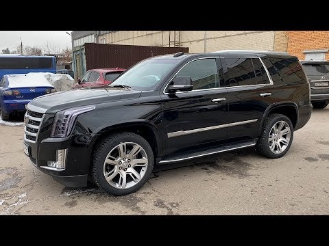 Cadillac Escalade - Когда ты оседлал американскую мечту.