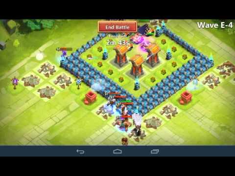 Castle Clash : TH11 HBM E - Under 3000 Might