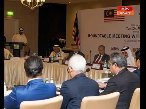 Tun Dr Mahathir Mohamad yakin destinasi ideal pelabur Qatar
