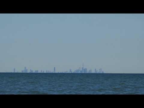 Toronto Skyline from Hamilton Beach Curve Test - 50km