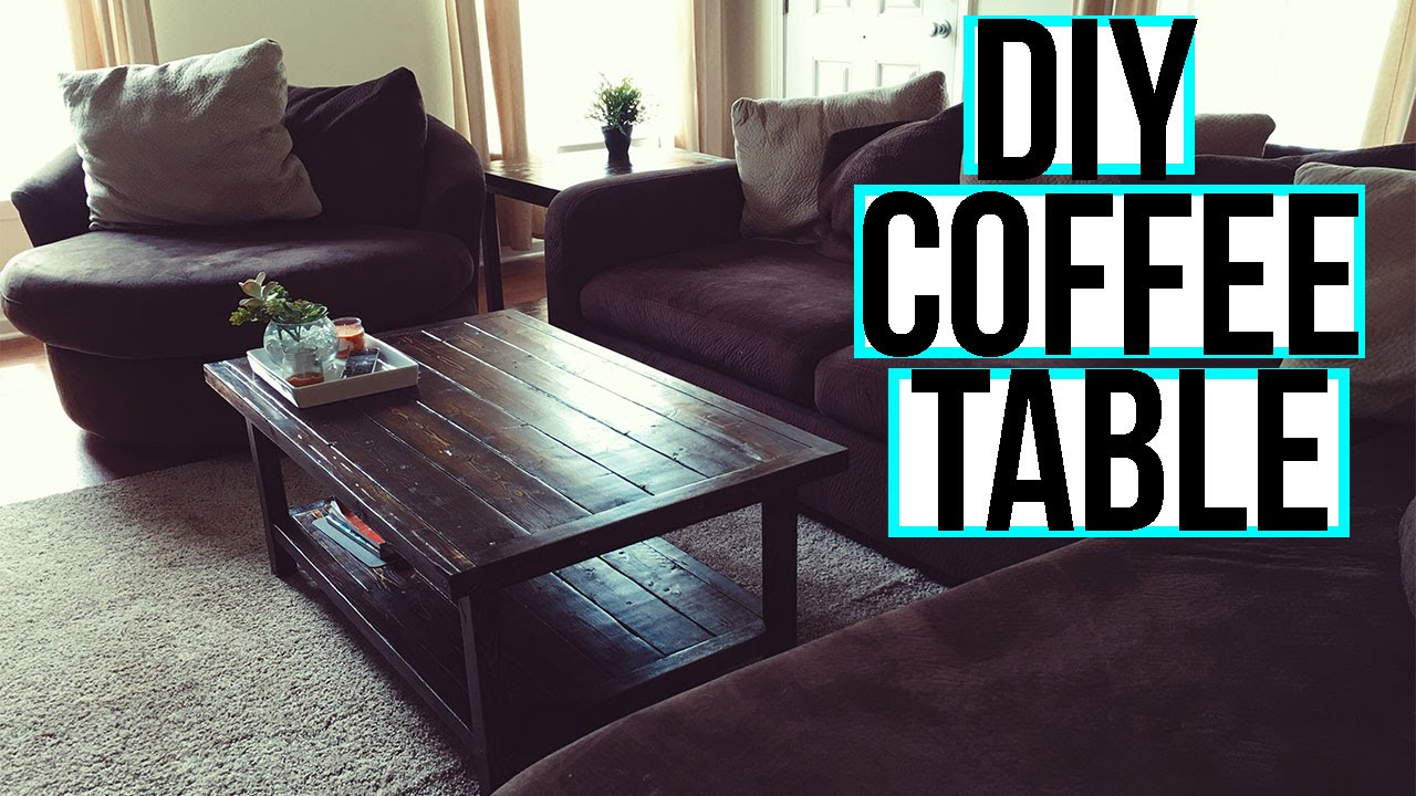 Coffee table with a shelf youtube - Coffee Table With A Shelf Youtube 33