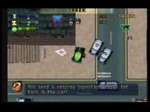 Grand Theft Auto 2: Job #4 - Bank Robbery!