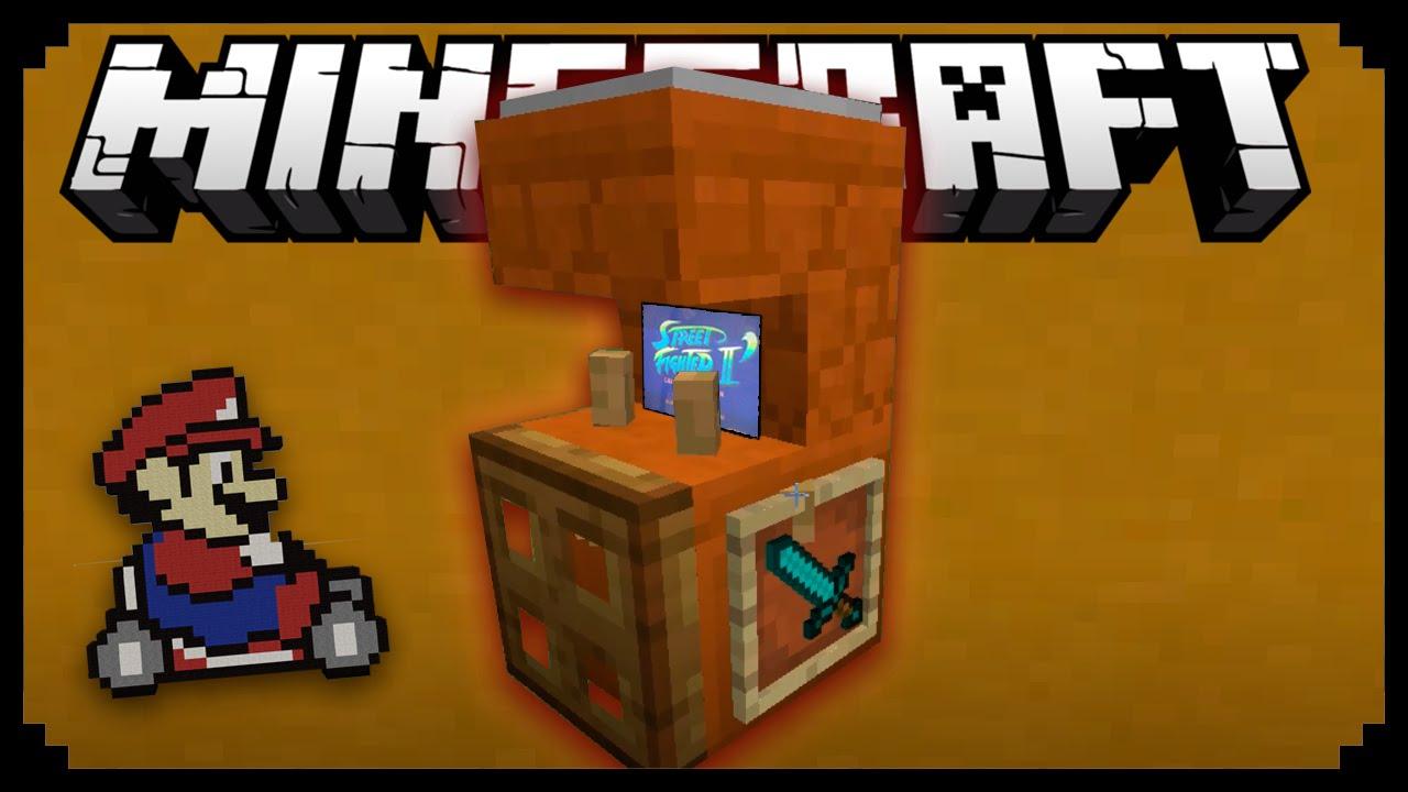 Minecraft как сделать игровой автомат в игровой автомат плейбой играть бесплатно