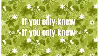 Savannah Outen - If You only knew - with lyrics