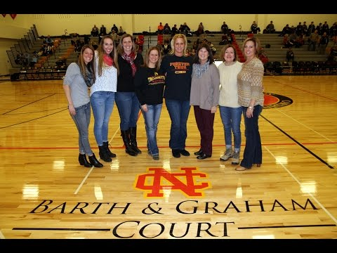 Barth Graham Court Dedication Ceremony