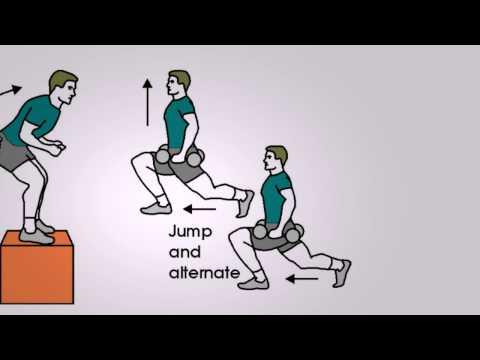 Three Plyometric Exercises for Running - Speed Training