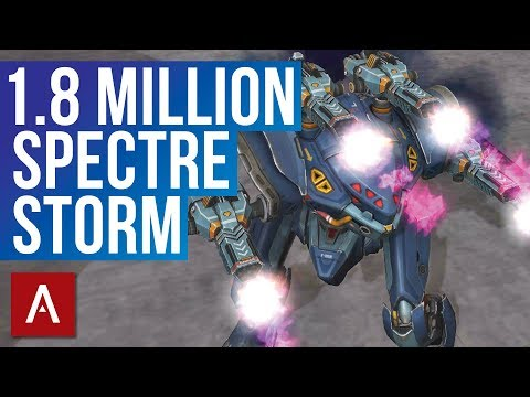 War Robots: Storm Gameplay | 1.8 MILLION with Spectre Storm MK2