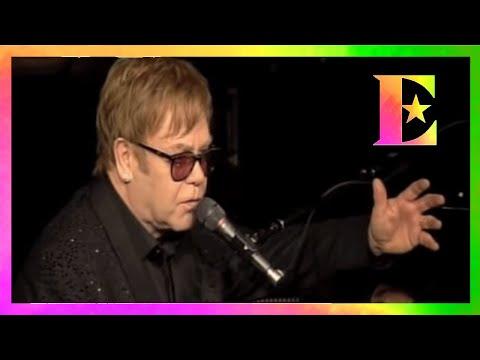 Elton John Dedication to Whitney Houston
