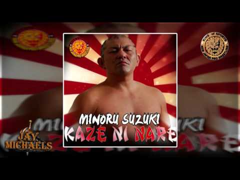 NJPW: Kaze Ni Nare (Minoru Suzuki) by Ayumi Nakamura + Custom Cover And DL