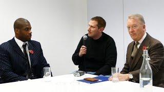 Frank Warren with Daniel Dubois: DAVE ALLEN PRICED HIMSELF OUT vs DDD!