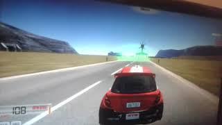 Jugando a Cars 3D - minijuegos