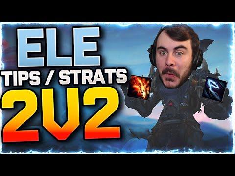 ⚡ZAP-ZAP 2V2 Tips/Strats | Elemental Shaman PvP | Shadowlands World of Warcraft