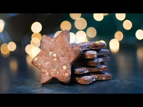 Vegan Gingerbread Cookies ♥ Sugar-free, Honey-Free & Oil-Free | Healthy Gingerbreads without Eggs