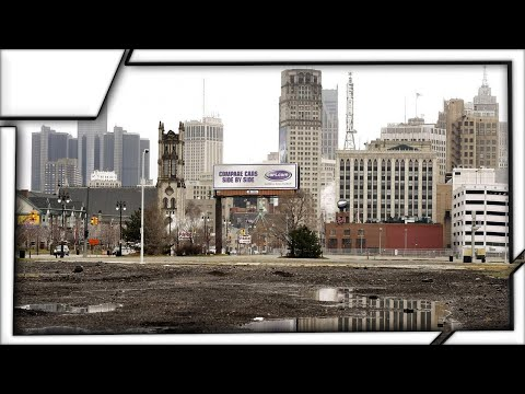 Ghost Towns - Detroit, USA