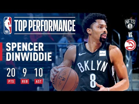 Spencer Dinwiddie Wins It For The Nets vs The Hawks