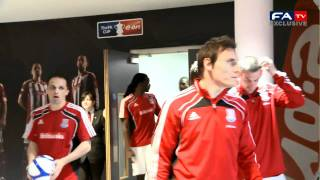 Stoke City 5-0 Bolton Wanderers Official Tunnelcam | The FA Cup semi final 17/04/11