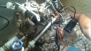 motorcycle engine running using water as fuel