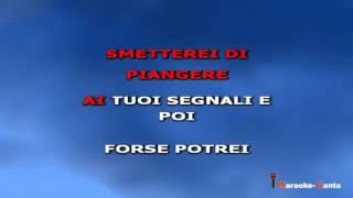 Tiziano Ferro - Senza scappare mai più (video karaoke)