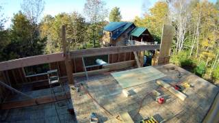 Framing The 5th Floor And Building Sandwich Beams - 53 - My Diy Garage Build Hd Time Lapse