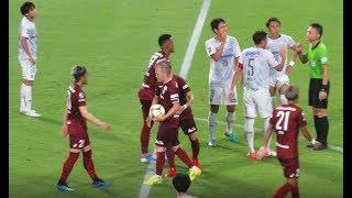 イニエスタ(Iniesta)選手がPK失敗も跳ね返りを押し込んだゴール 神戸x大阪