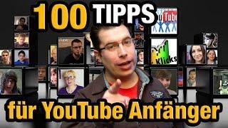 100 Tipps für YouTube-Anfänger - Commentorio