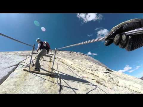 Stairs and Cables to the top of Half Dome 10/06/2015