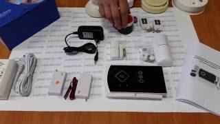 Видеообзор беспроводной охранно-пожарной GSM сигнализации Страж Стандарт