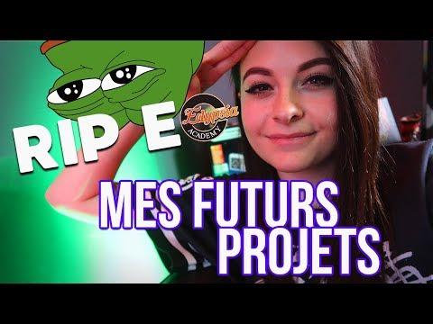 LA FIN D'EC AC | MES FUTURS PROJETS