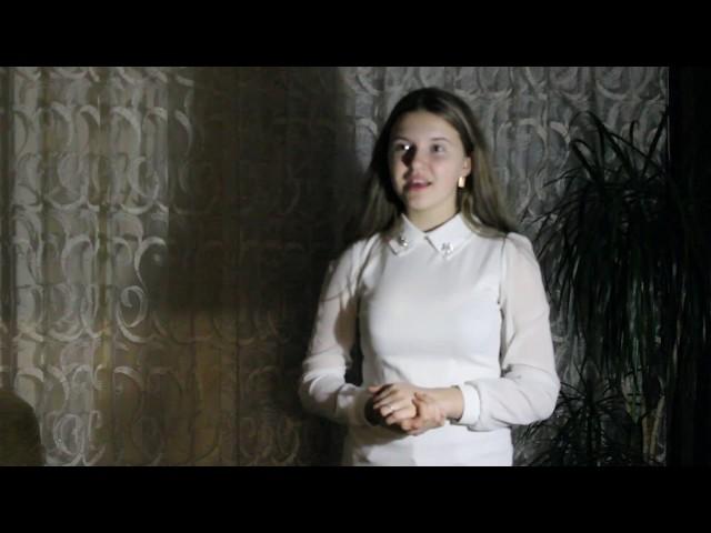 Изображение предпросмотра прочтения – АринаПрокоса читает произведение «Девушка пела в церковном хоре» А.А.Блока