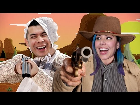 QUICK ON THE DRAW! - WESTERN PRESS - Husband vs Wife