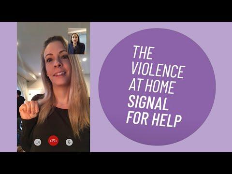 Violence at Home #SignalForHelp