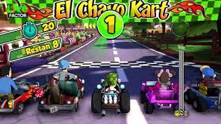 Gameplay - Chavo corriendo en la Copa Popis - El Chavo Kart - #Gameplay