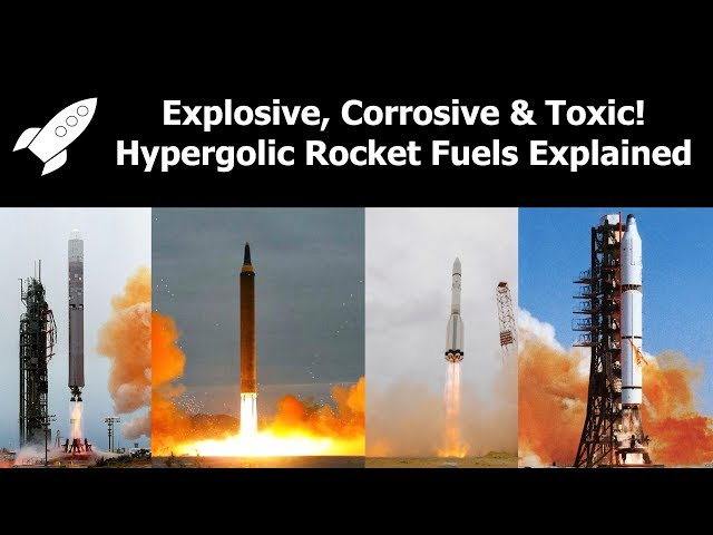 What are Hypergolic Rocket Fuels? (Other than Explosive, Corrosive, Toxic, Carcinogenic and Orange)