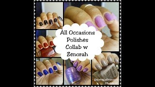 My Go-To All Occasion Nail Polishes Collab