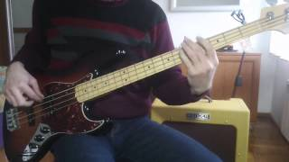 John Paul Young - Love Is In The Air. (bass cover)