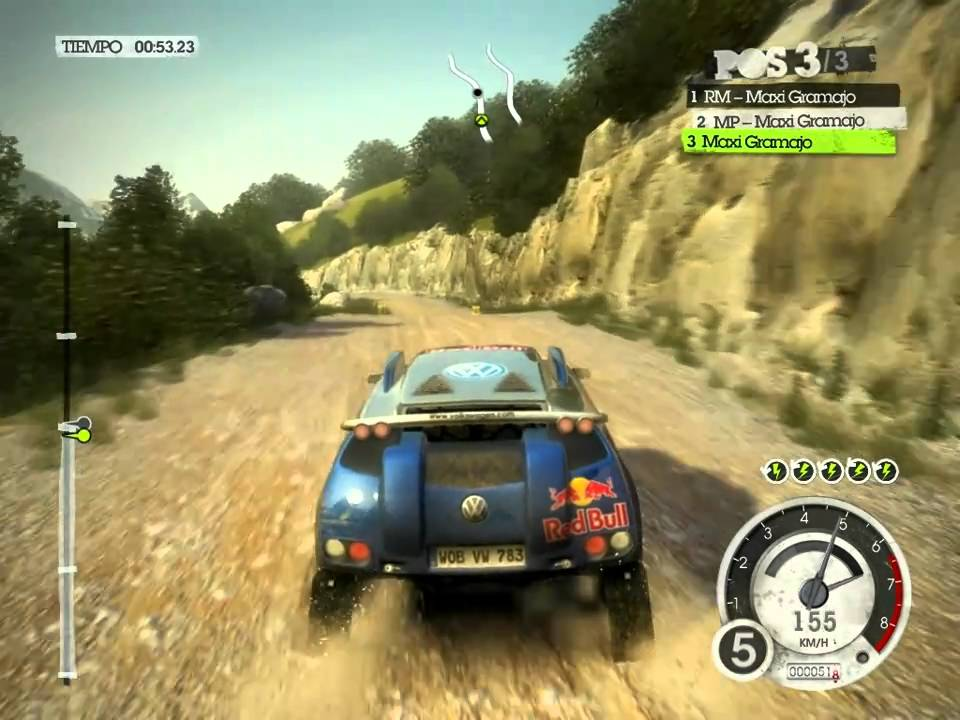 all cars colin mcrae dirt 2 pc 25 volkswagen race touareg 2 youtube. Black Bedroom Furniture Sets. Home Design Ideas
