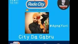 Fun during recording of Lohri Song at Radio City HQ | City Da Gabru