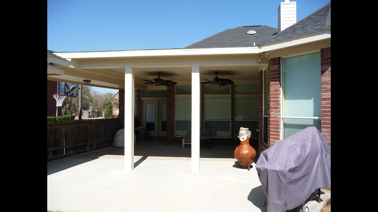 Patio Covers Houston, Texas By All About Patio Covers Allaboutpatiocovers  Com Video 1006