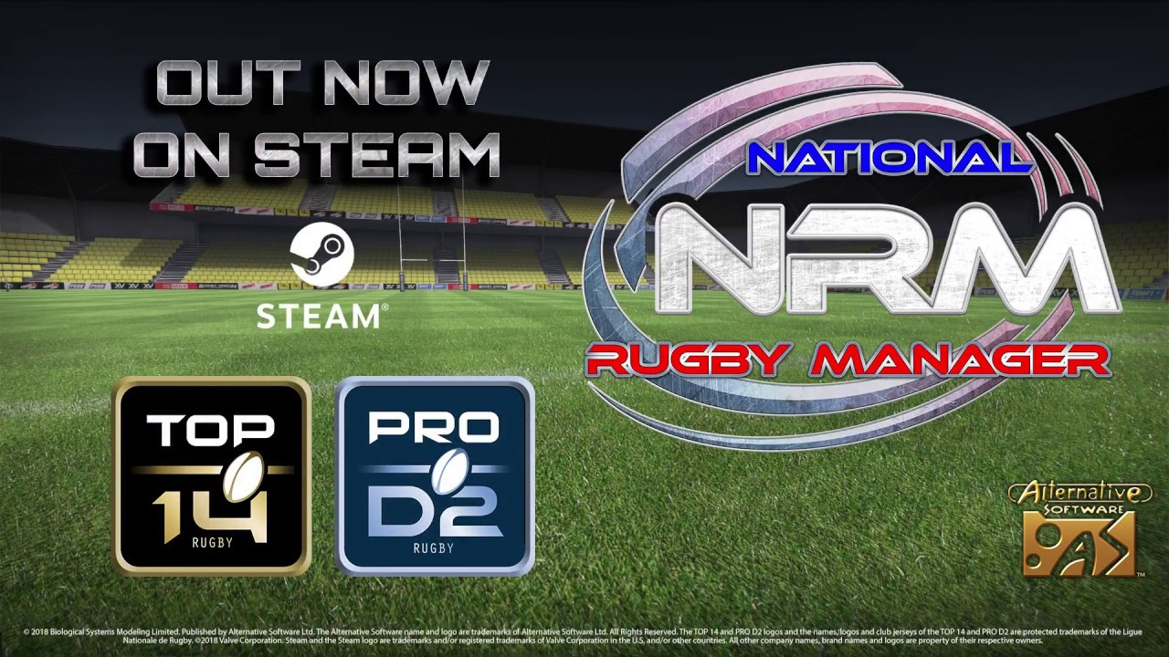 Alternative Software Ltd - National Rugby Manager