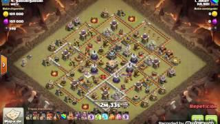 Th11 vs Th11: Quatro VaLaLoon (Andy - HA.NOI - Clash Of Clans)