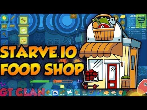 STARVE.IO - FOOD SHOP (BAKERY) #2