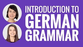 introduction to german introduction to german grammar